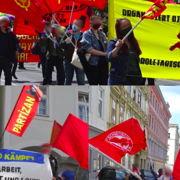 AUSTRIA - Report on the 1st of May 2020