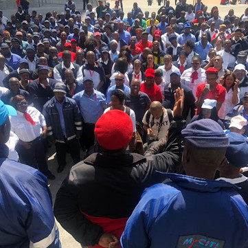 SOUTH AFRICA – Bus drivers strike continue after 80 got fired
