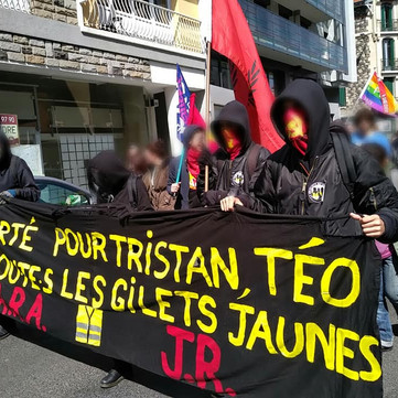 FRENCH STATE - Comrade Théo on Hunger Strike