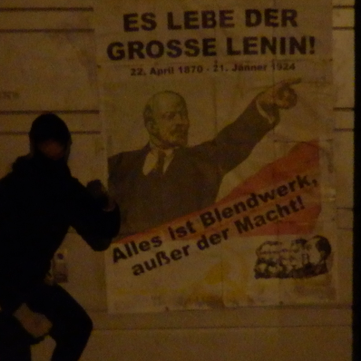 AUSTRIA - Long live the 150th anniversary of the birth of Lenin!