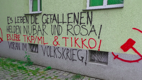 AUSTRIA  - Action in rememberance of the fallen heros Nubar and Rosa