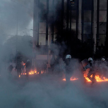 GREECE - 10,000 against new law of repression