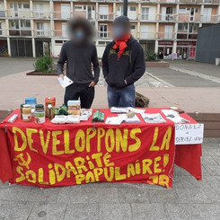 FRANCE - Further Actions of People' s Solidarity