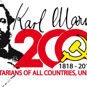 "International - Campaign ""200 years Karl Marx"""