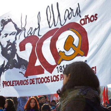 CHILE - Militant Demonstration On May First In Santiago