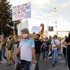(NORTH) MACEDONIA - Protests against electricity cost increase!