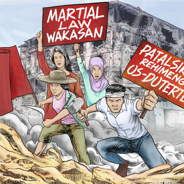PHILIPPINES - End martial law! Overthrow the US-Duterte regime!