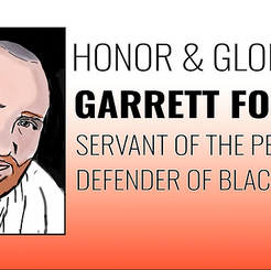 USA - Honor and Glory to Garrett Foster, Servant of the People, Defender of Black Lives
