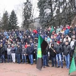 BOSNIA AND HERZEGOVINA - Mine Workers on strike!
