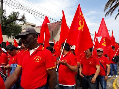1 de mayo clasista, antiimperialista y revolucionario fdlp-ec 2018 N1