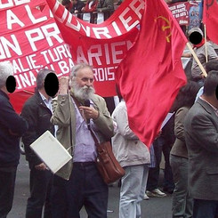 FRANCE - Our warmest Red Salute on Comrade Pierre!