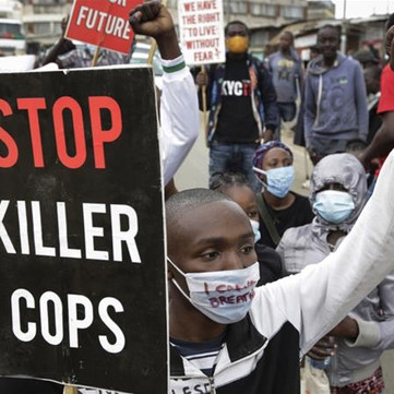 "KENYA - ""Corona is killing us and the government ist killing us"""