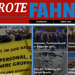 """AUSTRIA - New Newspaper """"The Red Flag"""" published"""