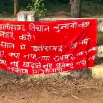INDIA – successful election boycott campaign in Andhra Pradesh