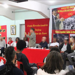 BRAZIL – Event on the 100th anniversary of the Great Socialist October Revolution