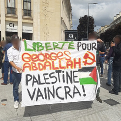FRENCH STATE - Solidarity with Georges Ibrahim Abdallah!