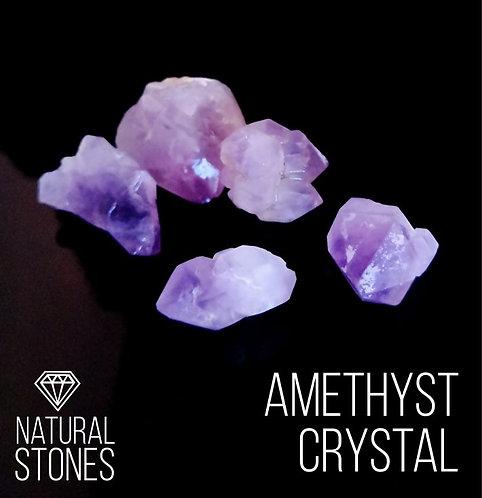 Натуральный кристалл аметиста Amethyst crystal, 10-35 мм, 100гр