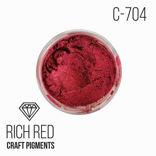 """CraftPigments """"Rich Red"""", Роскошный красный 25мл"""