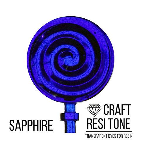 Прозрачный тонер для эпоксидной смолы, Sapphire (синий) 10мл