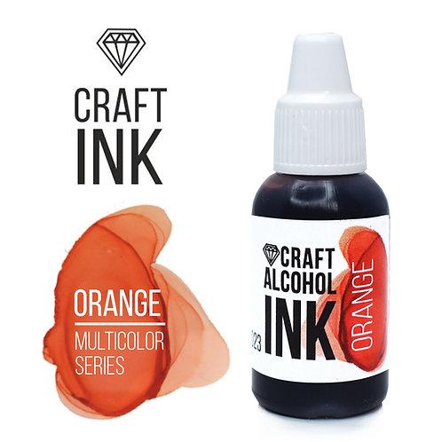 Спиртовые чернила  Craft  INK, Orange (Апельсин), 20мл