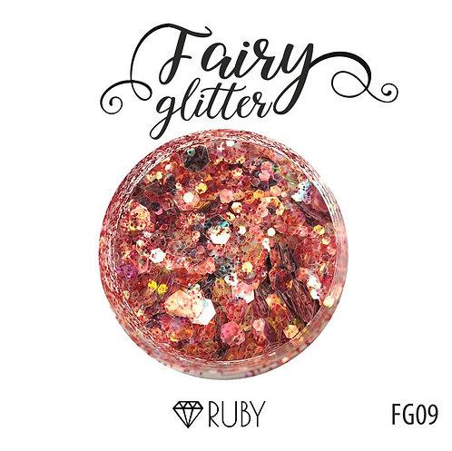 Глиттер серии FairyGlitter,Ruby