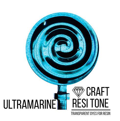 Прозрачный тонер для эпоксидной смолы, Ultramarine (голубой), 10мл