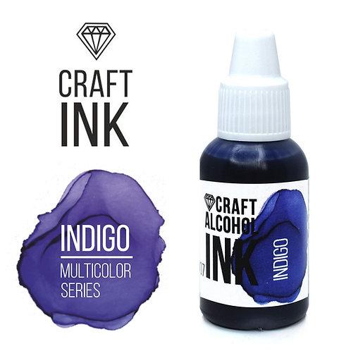 Спиртовые чернила  Craft  INK, Indigo, 20мл