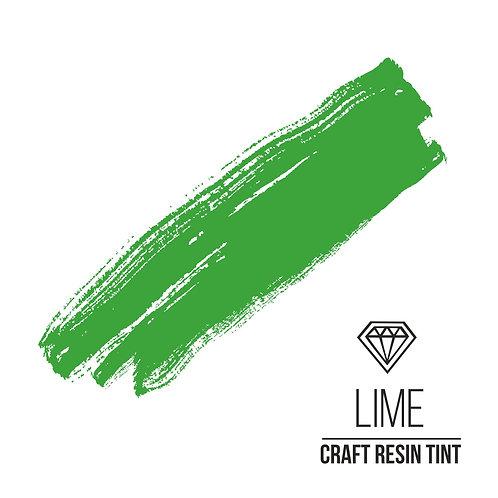 Краситель для смолы и полимеров CraftResinTint, Лайм 100мл