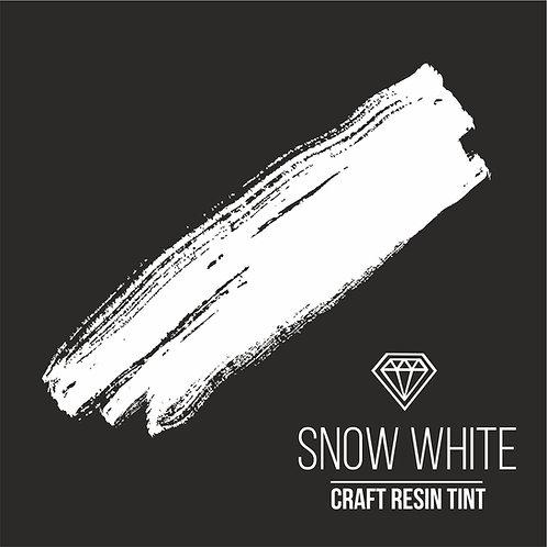Краситель для смолы и полимеров CraftResinTint, Белый 10мл