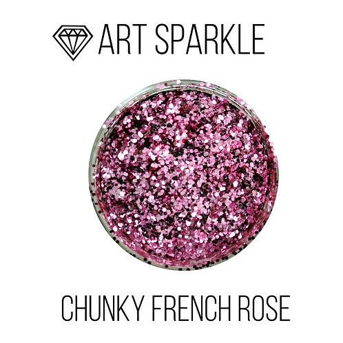 Глиттер крупный Chunky French Rose, 50гр