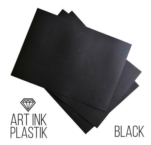 Пластик Art Ink Plastik Black 35*50см, 5 шт для рисования алкогольными чернила