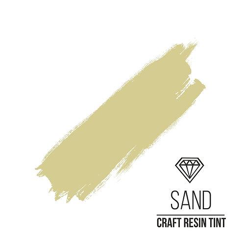 Краситель для смолы и полимеров CraftResinTint, Песочный 10мл