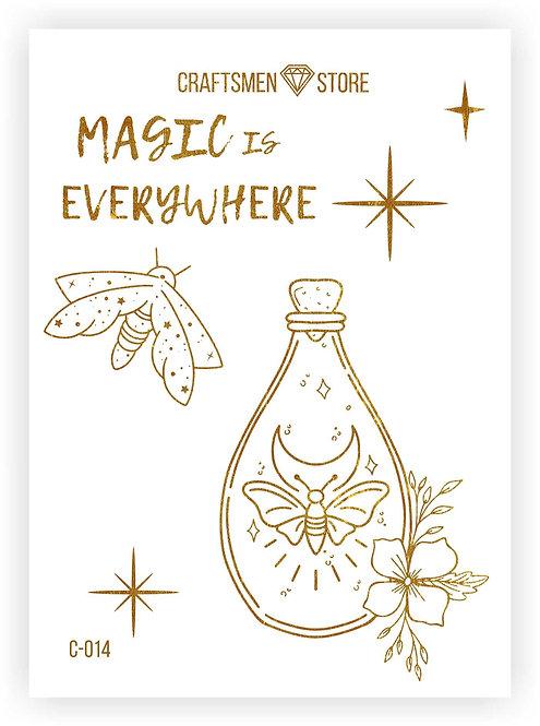 Наклейка серия Magic is Everywhere C-014
