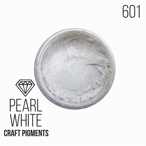 """CraftPigments """"Pearl White"""", Белый жемчуг, 25мл"""