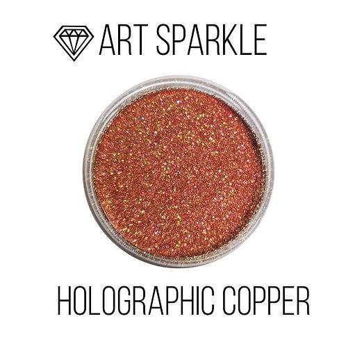 Глиттер мелкий Holografic Copper, 50гр