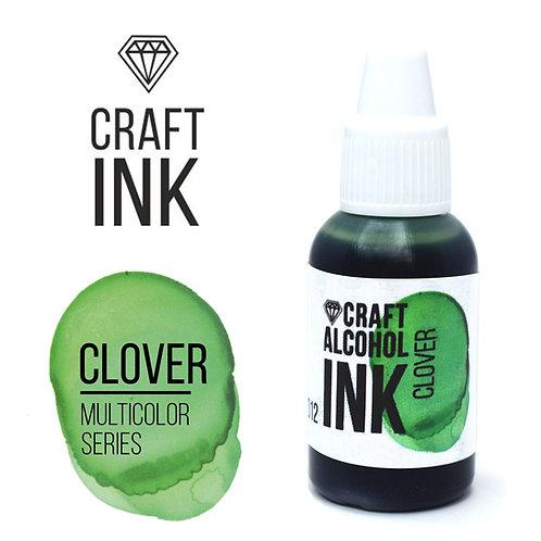 Алкогольные чернила  Craft Alcohol INK, Clover (Клевер), 20мл