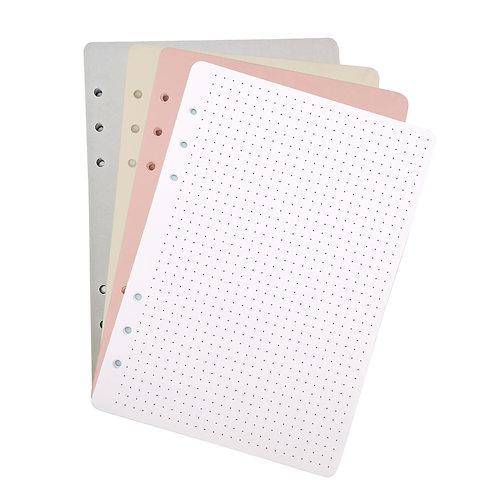 """Сменный блок, Color Set """"Dots"""", с точечной разметкой, 40 л."""