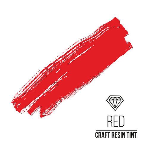 Краситель для смолы и полимеров CraftResinTint, Ярко-красный  10мл10мл