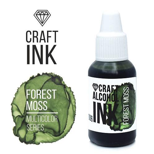 Спиртовые чернила  Craft  INK, Forest Moss, 20мл