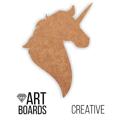 "Заготовка ART Board Creative ""Unicorn"", 40х30см"