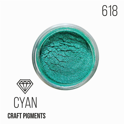 "CraftPigments ""Cyan"",сине-зеленый, 25мл"