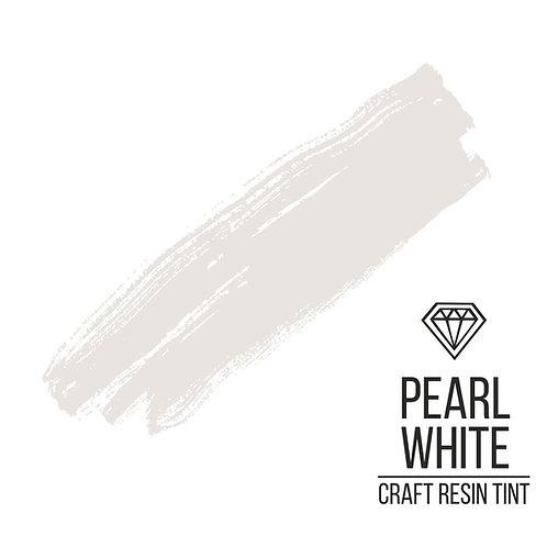 Краситель для смолы и полимеров CraftResinTint, Pearl White, жемчужный 10мл