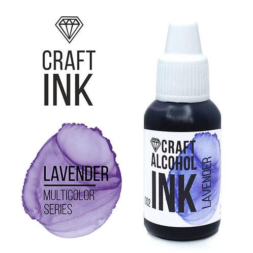 Спиртовые чернила  Craft  INK, Lavender (Лавандовый), 20мл