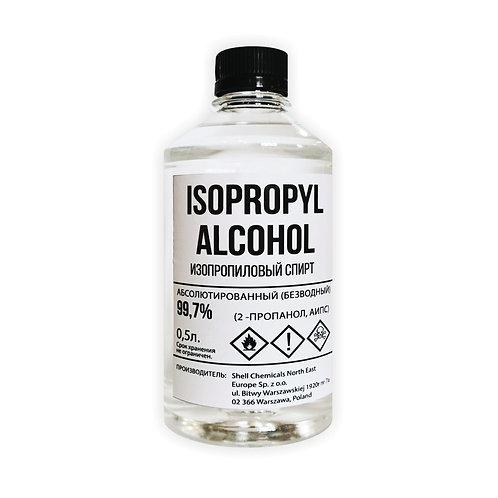Спирт изопропиловый (изопропанол) производства SHELL 0.5 л IPA 99.7