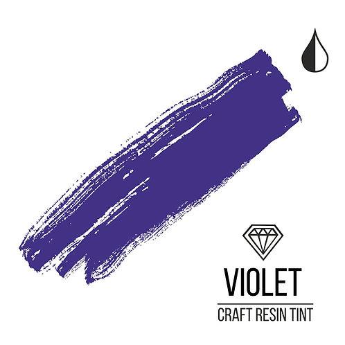 Краситель для смолы и полимеров CraftResinTint, Фиолетовый 10мл