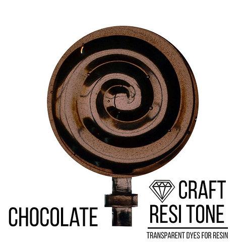 Прозрачный тонер для эпоксидной смолы, Chocolad (шоколадный) 10мл