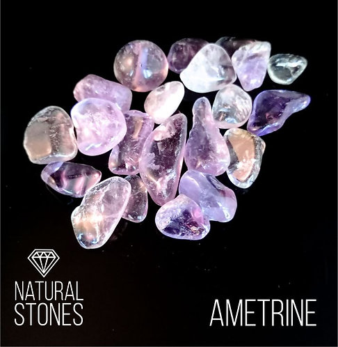 Натуральный камень Ametrine, 5-20мм, 100гр