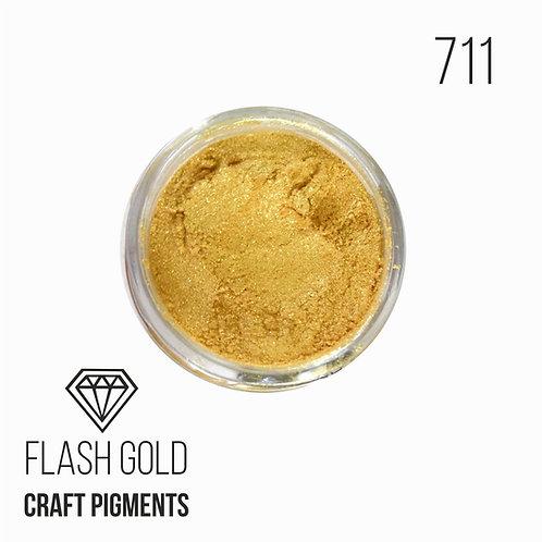 """CraftPigments """"Flash Gold"""", сияющее золото, 25мл"""