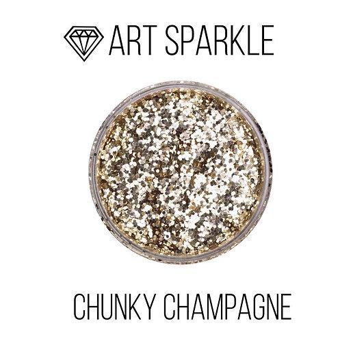 Глиттер крупный  Chunky Champagne, 50гр