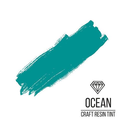 Краситель для смолы и полимеров CraftResinTint, Океанический 100 мл